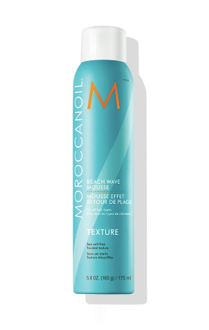 Moroccanoil Beach Wave Mousse - tent nutrition