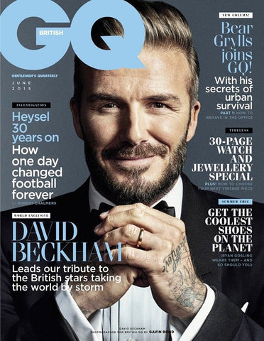 David Beckham Style - British GQ