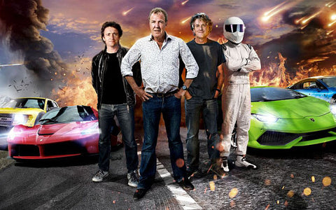 TOP GEAR - CLARKSON - MAY - HAMMOND