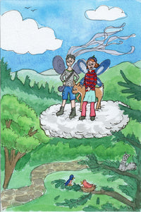 Mountain Fairies and the Deer in the Clouds - Fairy Children's Book Series -written and illustrated by Dorothy Tully