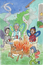 Load image into Gallery viewer, Mountain Fairies and the Deer in the Clouds - Fairy Children's Book Series -written and illustrated by Dorothy Tully