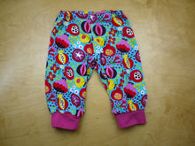 Load image into Gallery viewer, Fruit Salad Baby Pants -12 months Floral Baby Pants -pomegranate toddler pant -cloth diaper pants -1st birthday outfit -rainbow baby bloomer, Dorybird