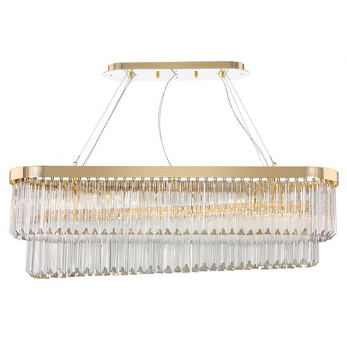 Empire - 8 Bulbs - Gold - Drop Clear