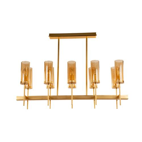 TIARA - 10 Bulbs - Gold Matt
