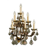 Teresa - 7 Bulbs - Gold - Pendeloque Honey