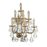 Teresa - 7 Bulbs - Gold - Pendeloque Clear