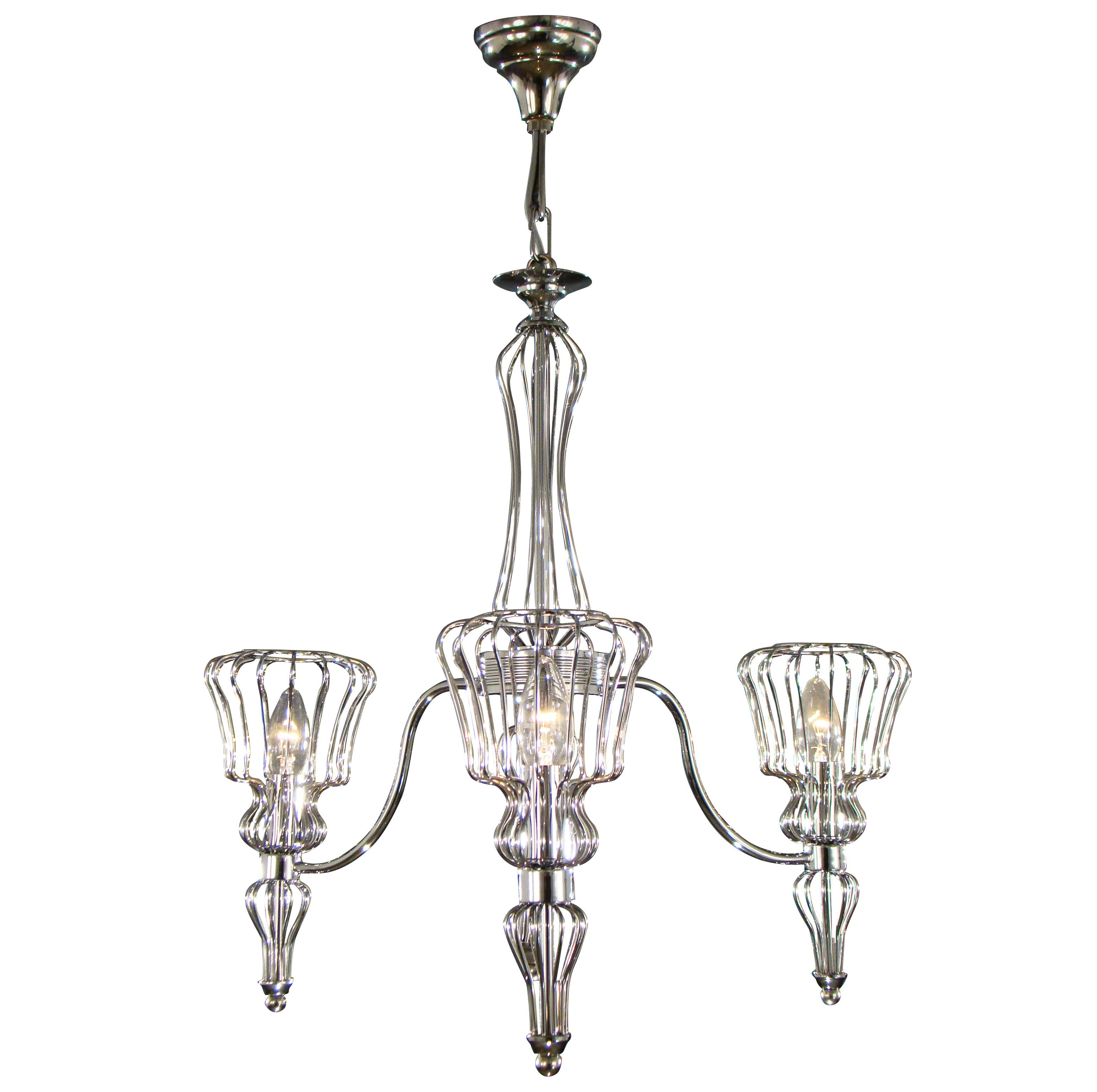 Asfour Crystal - Modern Chandelier - Chandelier - Chrome