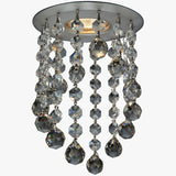 Fashion -1 Bulb -  Chrome - Ball Octagon Clear