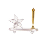 Pen Holder - Clear - Star - Large