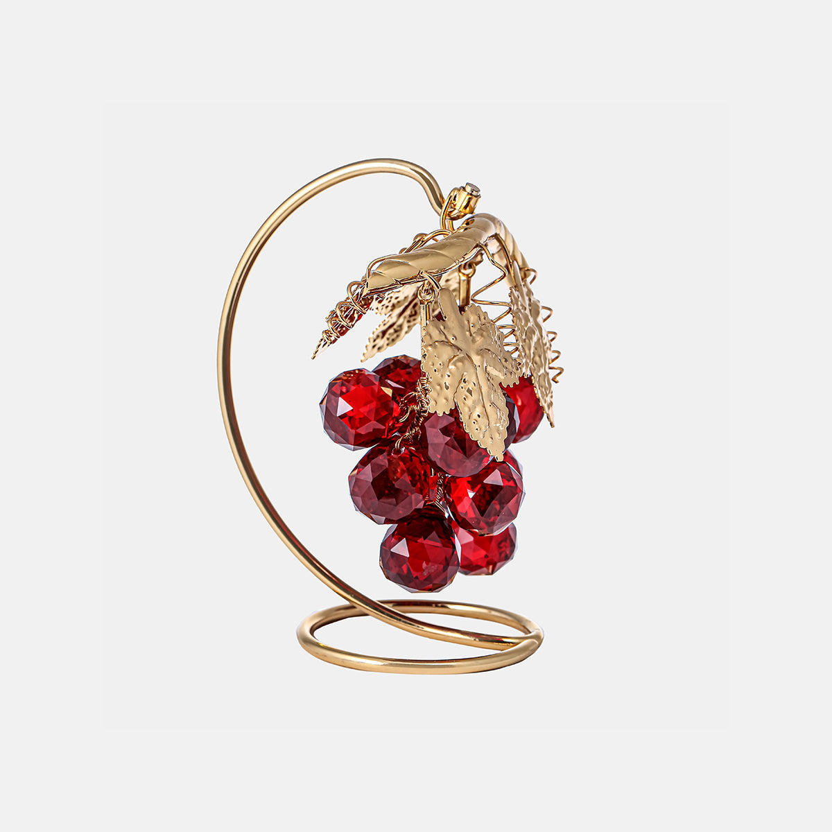 Grapes - Red - Gold Plated - Medium