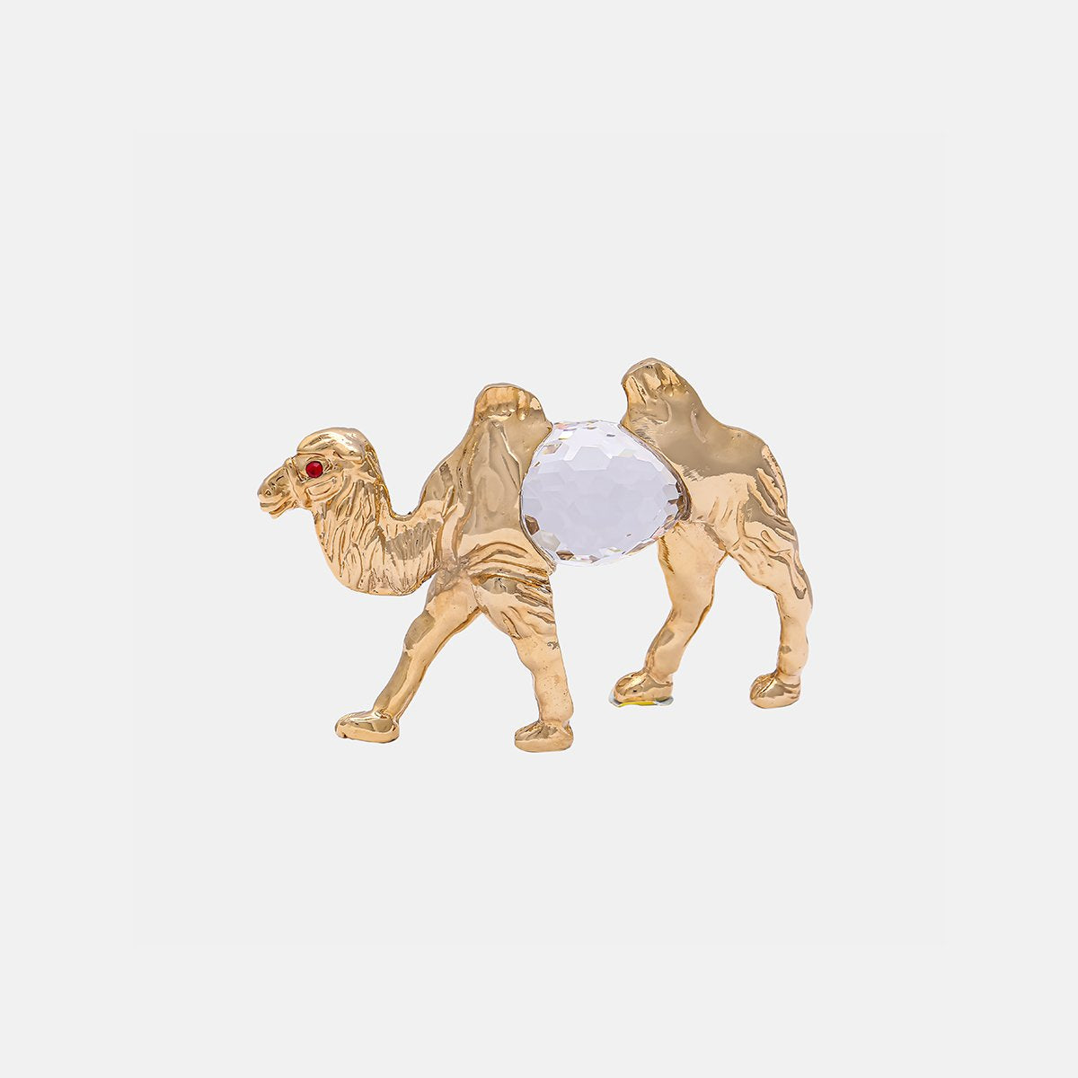 Camel - clear - Gold Plated