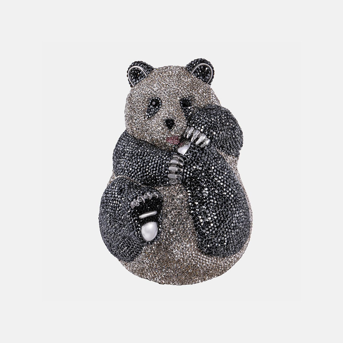 Asfour-Crystal-Panda-inlaid-with-colored-crystal-lobes