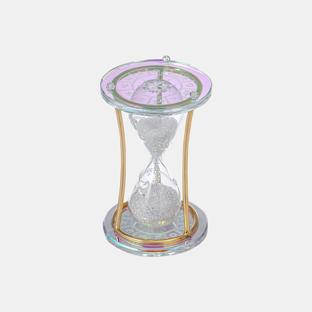 Sandglass - Clear - Multi-Color Sand - Large