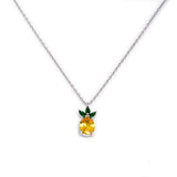 Necklace N1071  - 925 Sterling Silver - Pineapple
