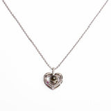 Necklace N1081 - 925 Sterling Silver - Heart