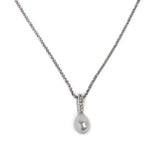 Necklace N1118 - 925 Sterling Silver - Pearl