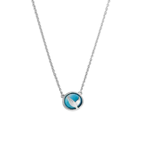 Necklace N3008-A - 925 Sterling Silver - Fish Tail