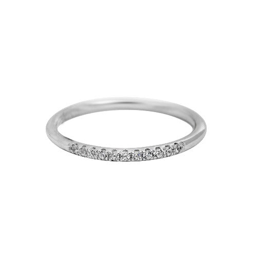 Ring R1060 - 925 Sterling Silver - Shiny