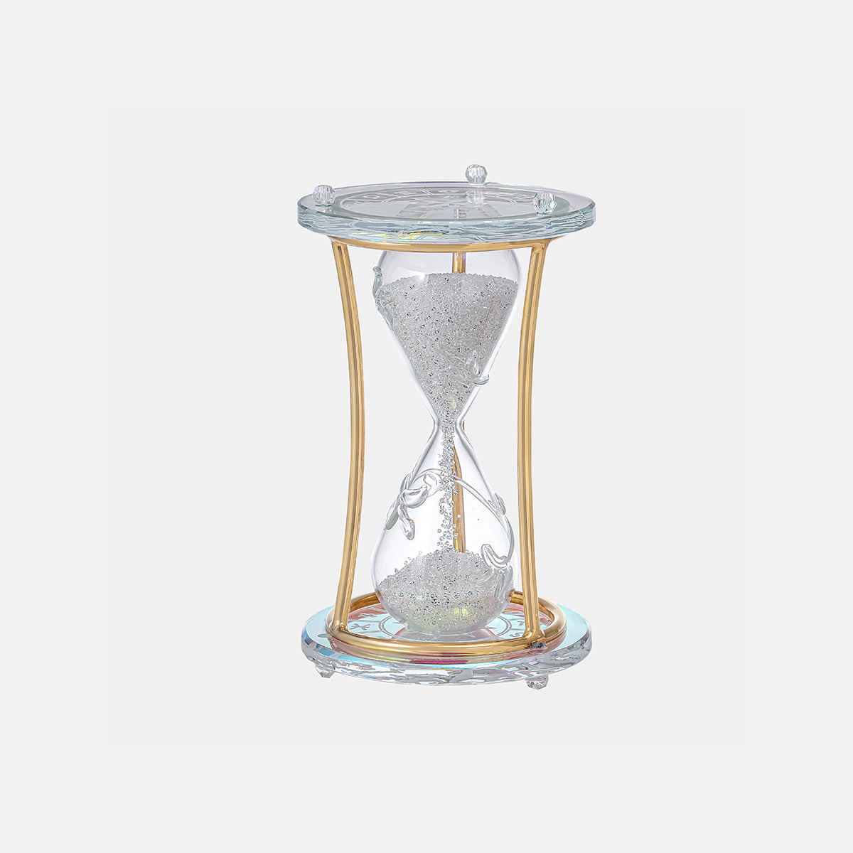 Sandglass - Clear - Multi-Color Sand - Small