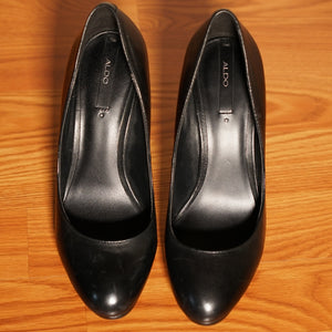 Aldo Black High Heel Pumps (Size 7 Only)