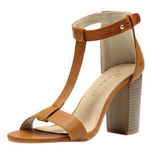 Load image into Gallery viewer, Casual Chunky Heel Summer Sandals