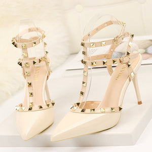 Rivet High Heels Pumps