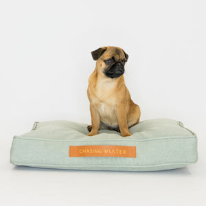 Linen Dream Dog Bed | Sage | SMALL