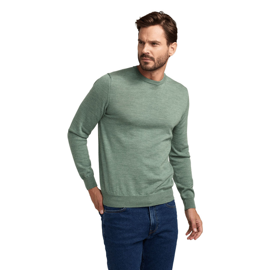 No.01 - Merino - Spring Green
