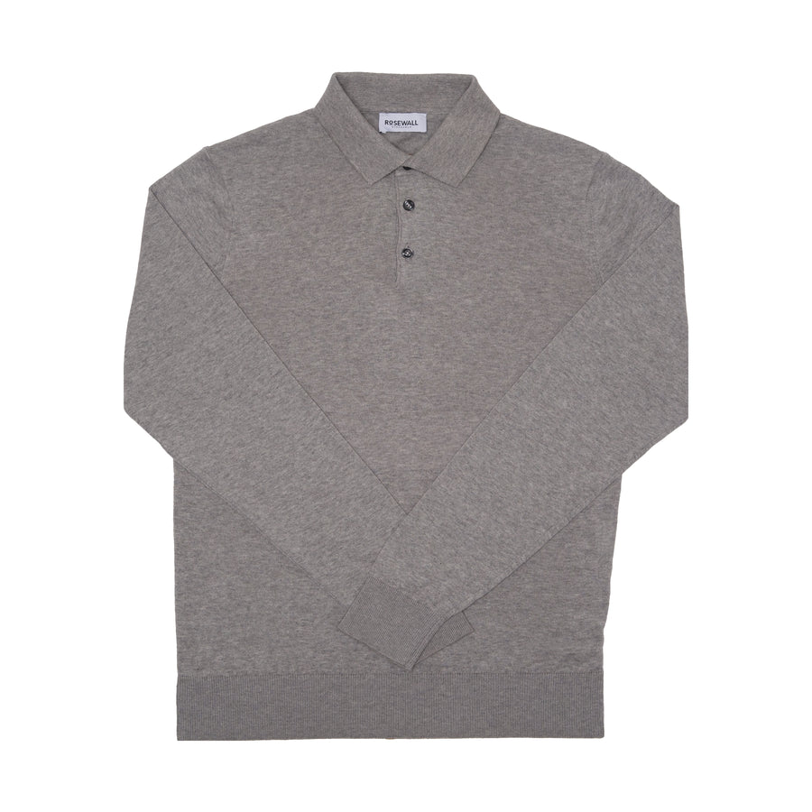 No.04 - Pima Cotton - Polo - Light Grey