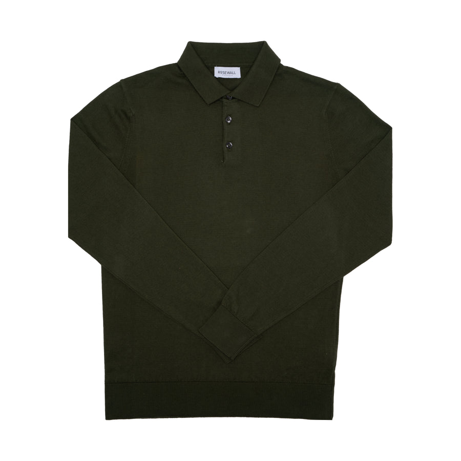 No.04 - Pima Cotton - Polo - Forrest Green