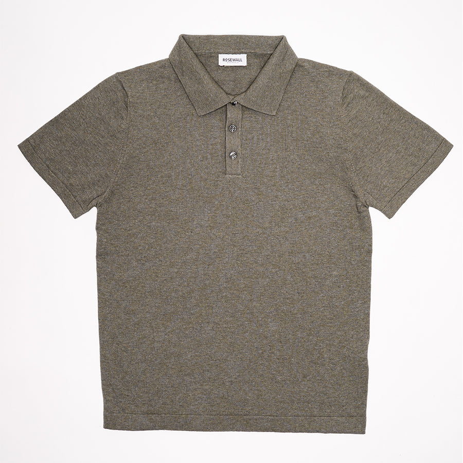 No.06 - Pima Cotton - Short Sleeve Polo - Kind of Grey