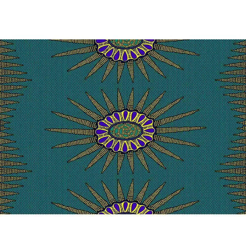 Afrilace 100% COTTON AFRICAN ETHNIC STYLE BATIK PRINT FABRIC