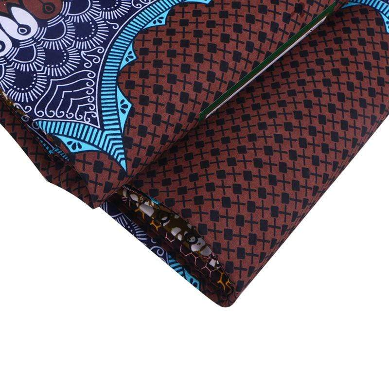 Afrilace AFRICAN COTTON FABRIC AFRICAN PRINT FABRIC(6 Yards)