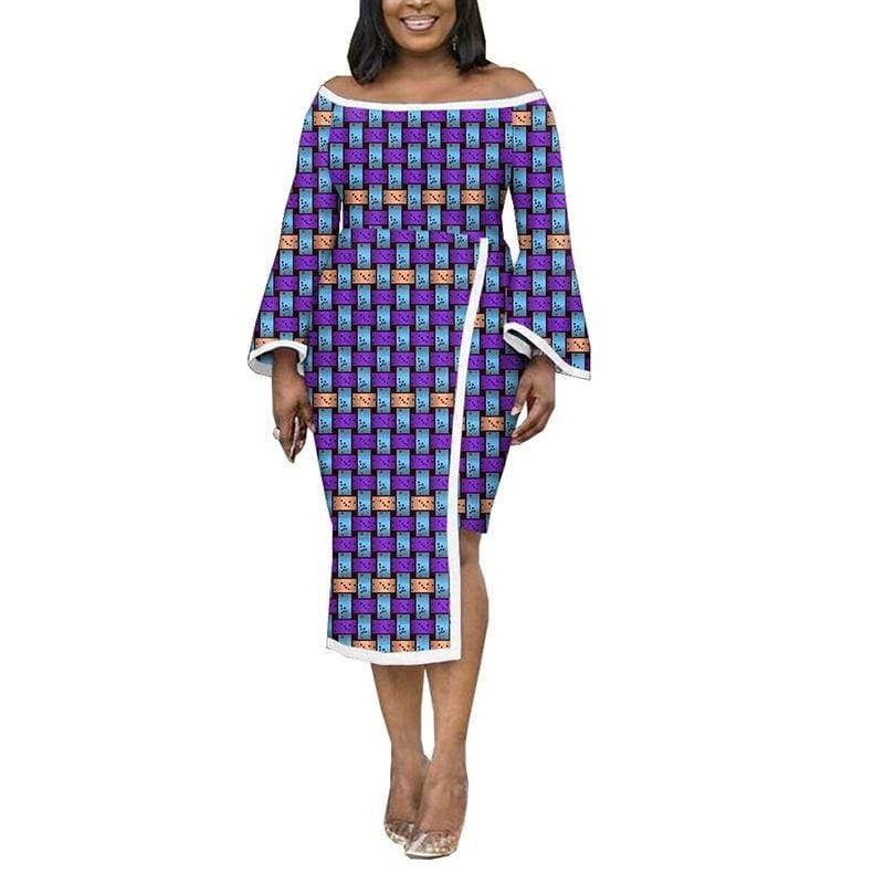 Afrilace AFRICAN COTTON FABRIC ETHNIC STYLE AFRICAN PRINT FABRIC WEDDING DRESSES