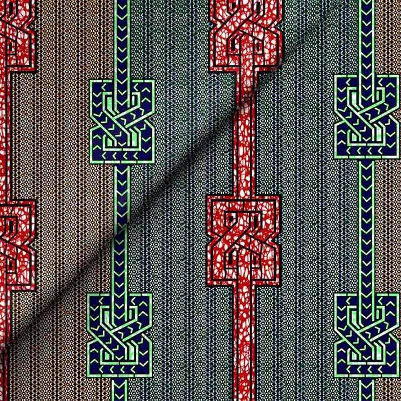 Afrilace AFRICAN ETHNIC STYLE PRINT FABRIC 100% COTTON FABRIC