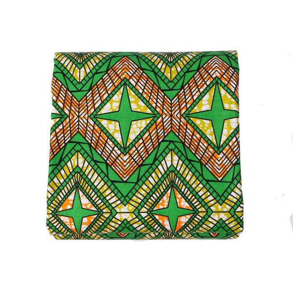 afrilace AFRICAN ETHNIC STYLE PRINTING AND DYEING WAX CLOTH COTTON DOUBLE-SIDED PRINTED FABRIC AFRICAN FABRIC(6 Yards)