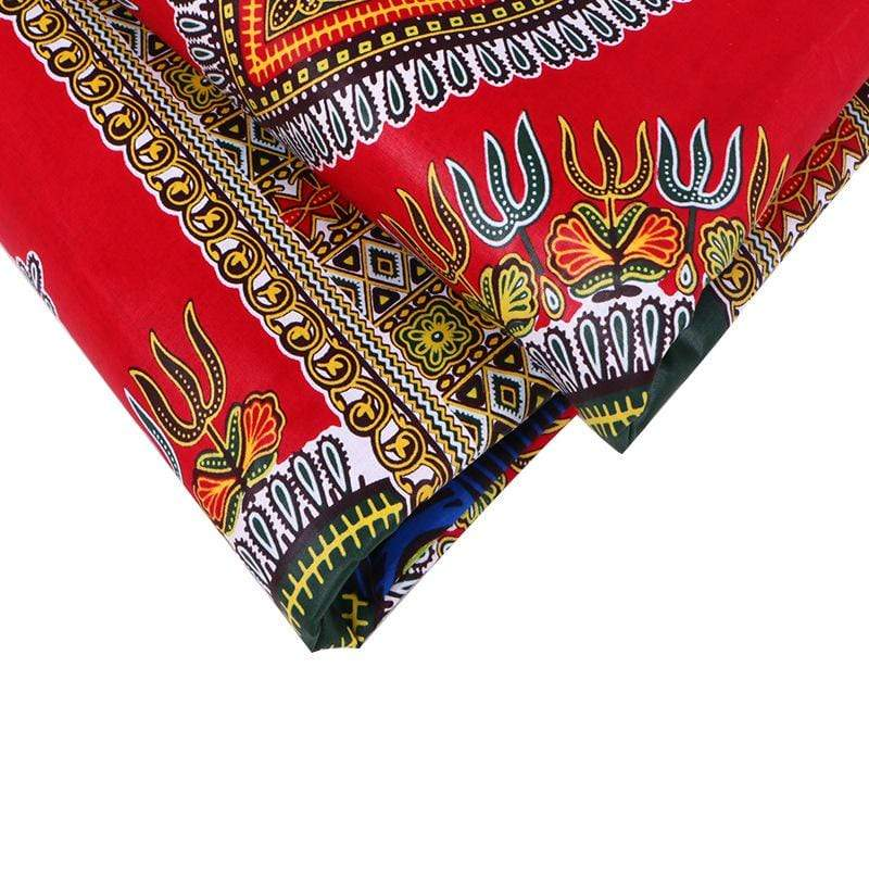 afrilace HIGH QUALITY AFRICAN PRINTS FABRIC 100% COTTON WAX ANKARA FABRIC(6 Yards)