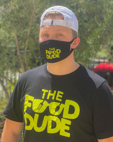 Food Dude Face Masks