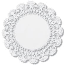 "10"" Round Paper Lace Doilies"