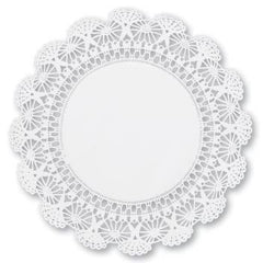 "12"" Round Paper Lace Doilies"
