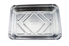 HFA-2061 1.5 lb Oblong Shallow Aluminum Container