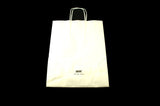 White Paper Shopping Bag Small 13 x 5 x 10