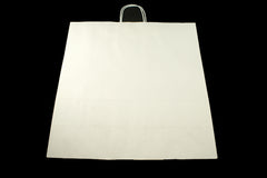 White Paper Shopping Bag X-Large 18 x 7 x 18 3/4