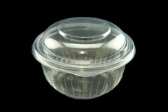 Dart C16BCD Presentabowls 16-Ounce Clear Bowl With Dome Lid