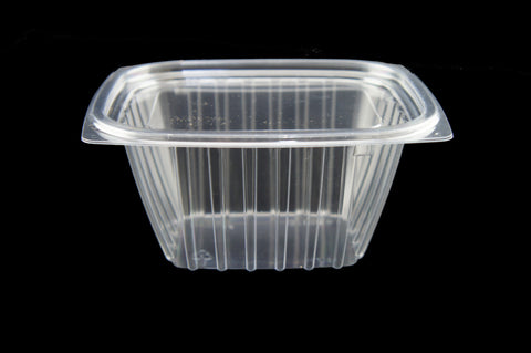 Dart C16dcpr 16 Oz Clear Rectangular Plastic Container With Lid