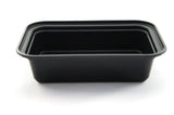 Generic 28oz Rectangular Plastic Container