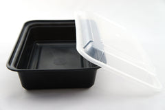 Generic 38oz Rectangular Plastic Container