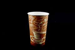 Dopaco 16 oz. Swirl Coffee Cup
