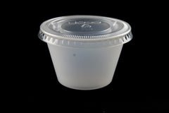 Dart Solo 400PC 4oz. Translucent Polystyrene Souffle / Portion Cup