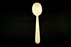 Heavy Weight Plastic Soup Spoons Honey